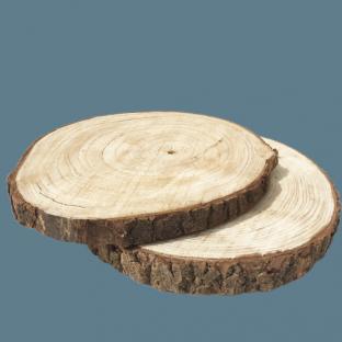 Location rondin de bois centre de table 40cm