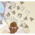 Confettis de table cheval à bascule