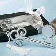 Joli décapsuleur clé vintage pompon cadeau