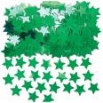 Confettis étoile vert carvanal anniversaire