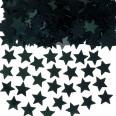 Confettis étoiles à parsemer, noir