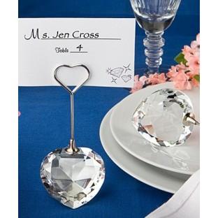 marque place coeur cristal porte nom d co table mariage. Black Bedroom Furniture Sets. Home Design Ideas