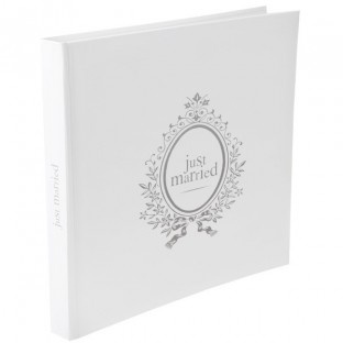 """Livre d'or mariage """"Just Married"""""""