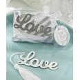 Marque page Love pompon cadeau invités