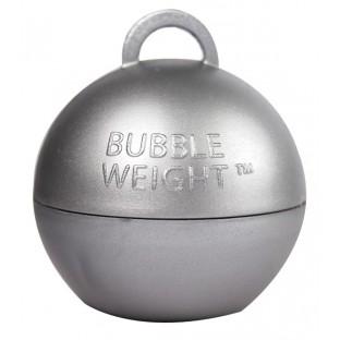 Poids pour ballons boule, argent silver (35gr)