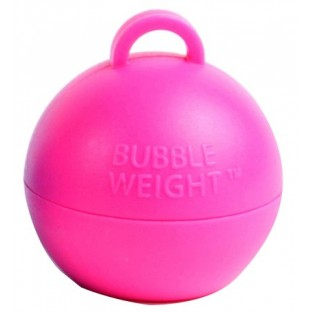"Poids pour ballons 35gr boule, rose ""vif"" fuchsia"