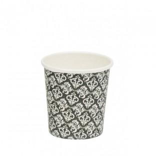 50 gobelet carton expresso noir baroque 10cl
