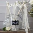 Baguettes cérémonie mariage clochettes (x 10)