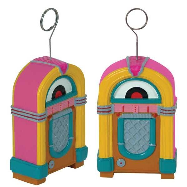 d coration jukebox porte nom poids ballons f tes adultes. Black Bedroom Furniture Sets. Home Design Ideas
