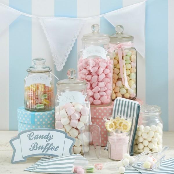 Kit d co candy bar sachets et pelles bonbons mariage for Deco pour candy bar