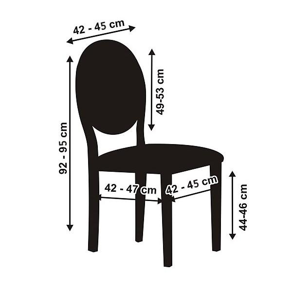 Housse de chaise en tissu mariage noeuds chaise mariage - Housse de chaise dossier arrondi ...