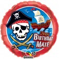 Ballon géant bateau pirate happy birthday