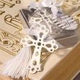 Marque page croix cadeaux invité communion
