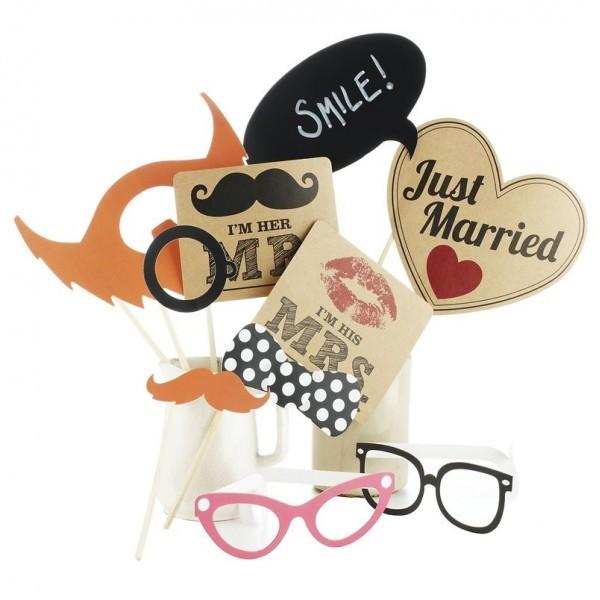 kit photobooth accessoires mariage vintage kit photobooth mariage creativ. Black Bedroom Furniture Sets. Home Design Ideas