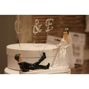 Figurine humoristique mariage