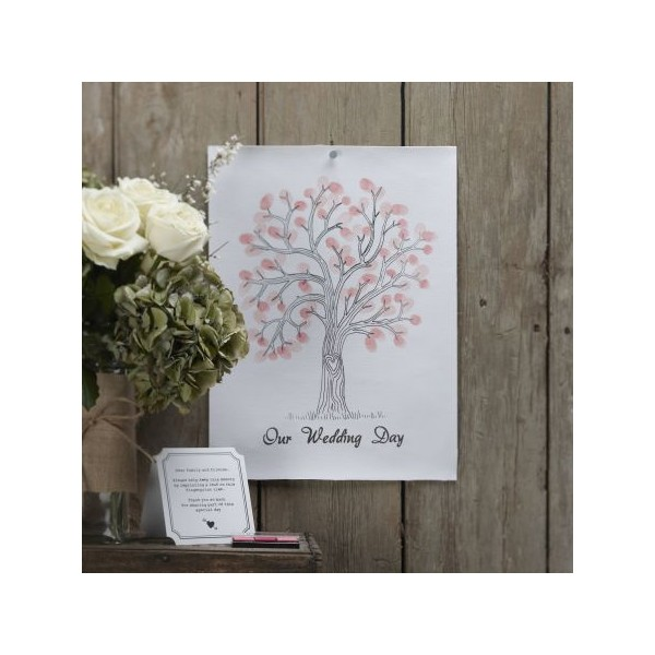arbre souhaits arbre empruntes rose livre d 39 or et stylo creative emotions. Black Bedroom Furniture Sets. Home Design Ideas