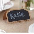 Place Cards - Chalkboard Kraft