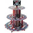 Stand à cupcakes thème Pirate