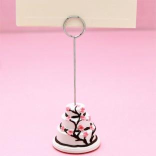 marque place porte nom fleur de cerisier d co table mariage creative emotions. Black Bedroom Furniture Sets. Home Design Ideas