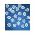 Confettis flocons de neige en papier (X 20)