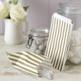 Gold & ivory candy bags