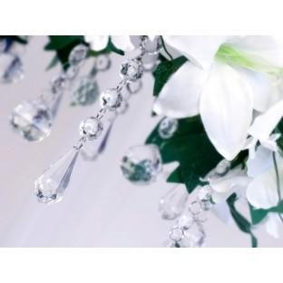 10 Pampille goutte diamant déco   Perles, diamant   Creative Emotions