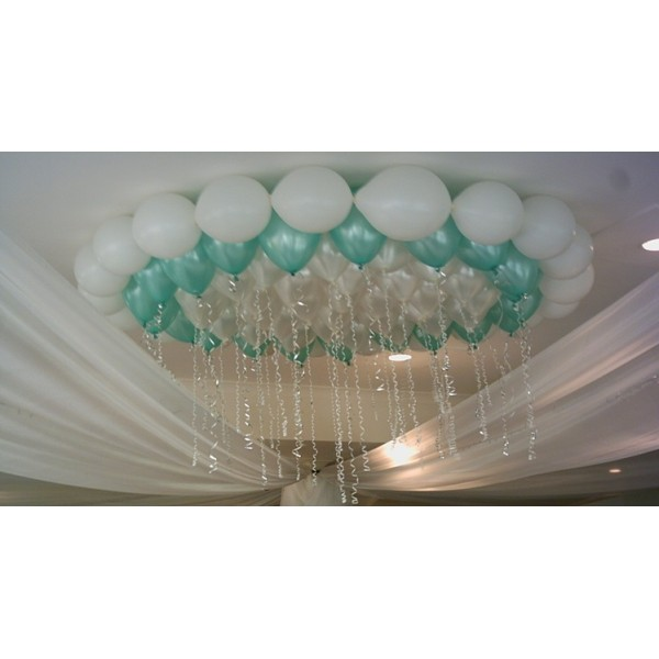 5 ballons perl s vert menthe mint ballons mariage creative emotions. Black Bedroom Furniture Sets. Home Design Ideas