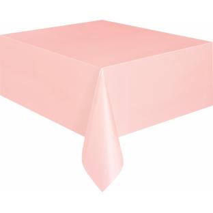 nappe rose clair en plastique nappages et serviettes creative emotions. Black Bedroom Furniture Sets. Home Design Ideas