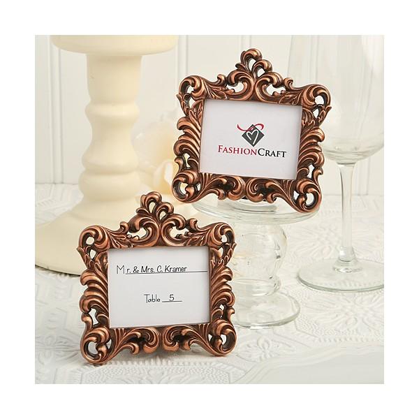 petit cadre baroque vintage or marque place cadeaux. Black Bedroom Furniture Sets. Home Design Ideas