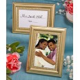 Petit cadre marque place mariage OR
