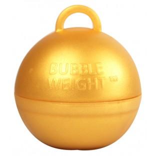 Poids pour ballons boule or gold (35gr)