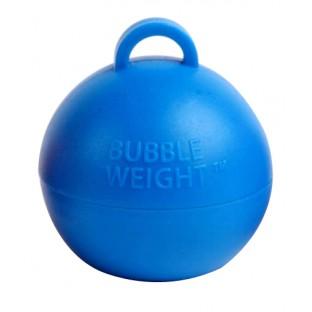 Poids pour ballons boule bleu 35gr