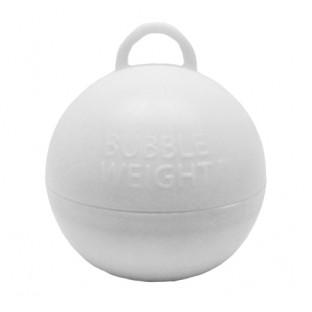 Poids boule pour ballons, blanc (35 gr)