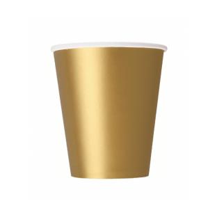 20 gobelets carton or gold