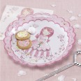 Assiettes princesse carrosse