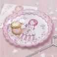 Assiettes princesse carrosse anniversaire fille