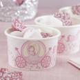 Pots à glace ou bonbons princesse carrosse