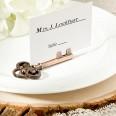 Clé vintage marque place porte nom table mariage