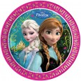 8 Assiettes La Reine des Neiges Disney Frozen