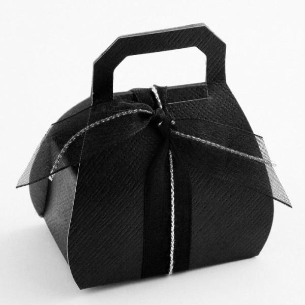 bo te drag es sac main noir uni bo tes drag es originales creative emotions. Black Bedroom Furniture Sets. Home Design Ideas
