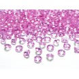 Perles diamant de table rose bébé 12mm