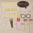 Kit Photobooth mariage pastel glitter