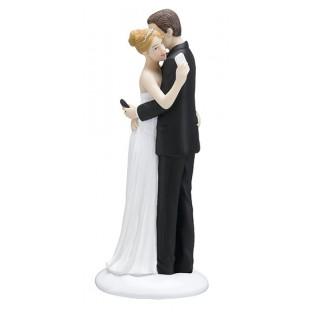 Figurine humoristique gâteau mariage Iphone