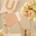 10 baguettes drapeaux hooray cérémonie mariage