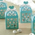 Robin's Egg Blue Favours Lantern Boxes