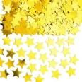 Confettis de table étoiles dorées gold