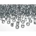 Perles Diamant de table gris foncé 12 mm