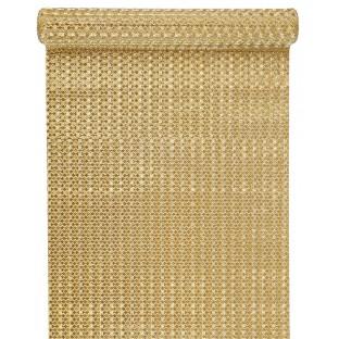 Chemin de table doré métallisé 5M 30cm