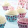 100 caissette à cupcakes vintage liberty fleurs