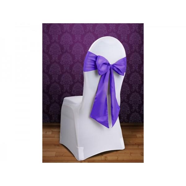 10 noeud de chaise mauve violet en satin housses et noeuds de chaise mariage creative emotions - Noeud de chaise en satin ...